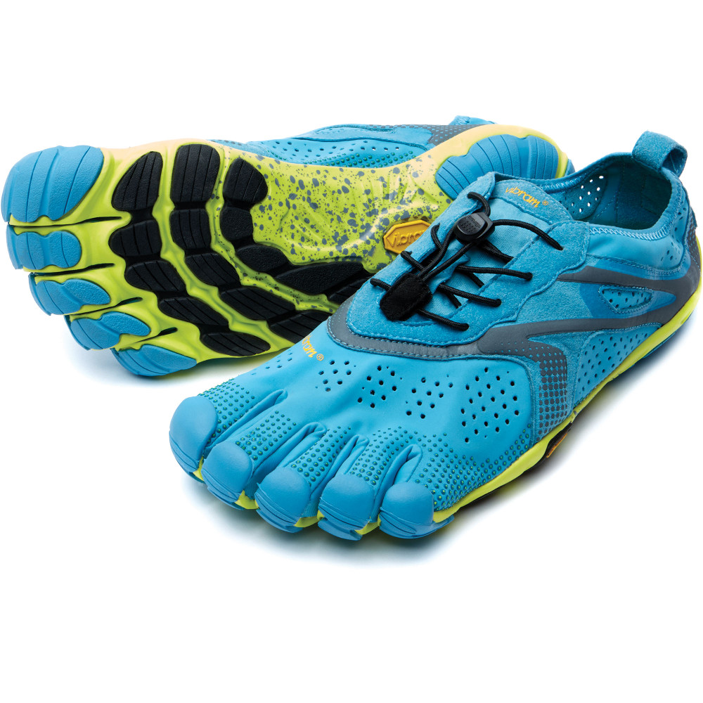 Mens V-Run Blue & Yellow Vibram Fivefingers