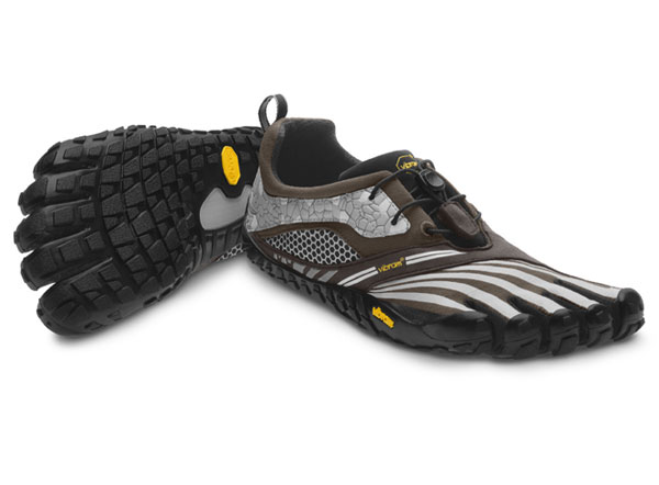 Discount Vibram Fivefingers Spyridon LS Military Green / Grey / Black