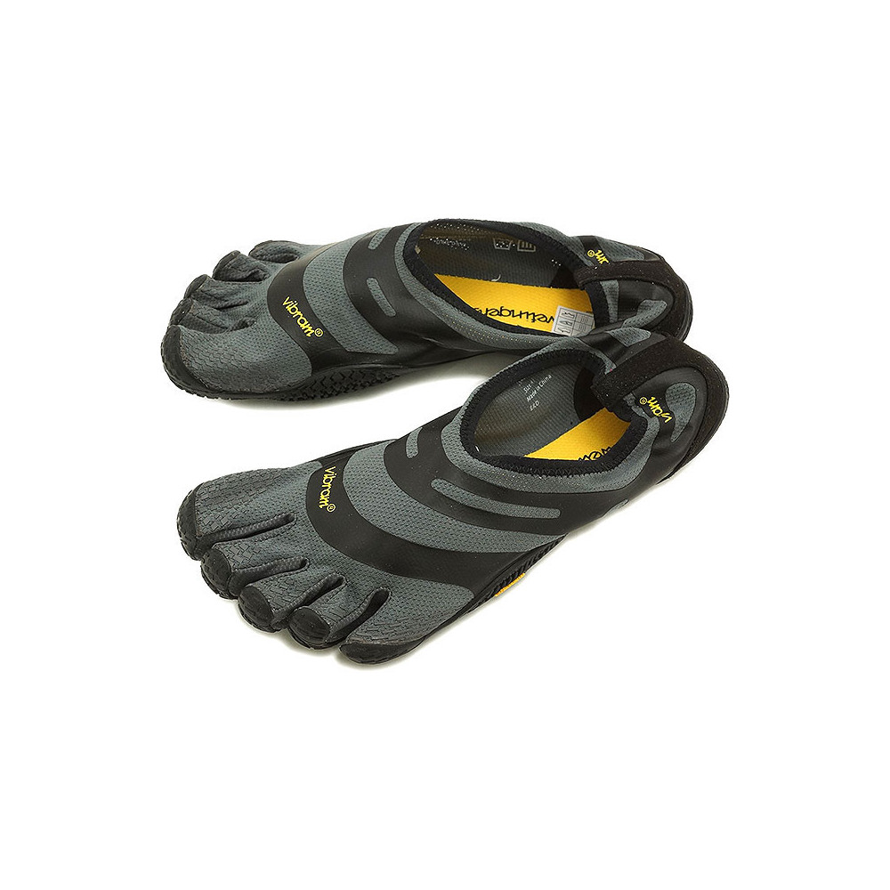 Mens EL-X Grey Black Vibram Fivefingers Ireland