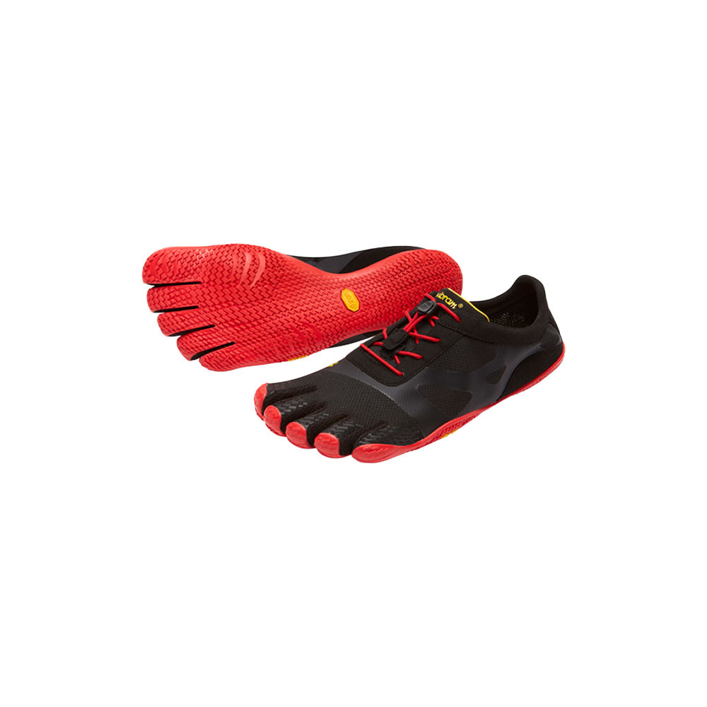 Mens KSO EVO Black & Red Vibram Fivefingers Ireland