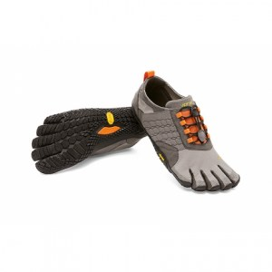 Trek Ascent Grey Black Orange Vibram Fivefingers Ireland