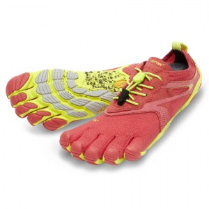 Bikila EVO Red/Yellow Vibram Fivefingers Ireland