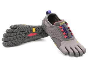 Ladies Trek Ascent Dark Grey Lilac Vibram Fivefingers Ireland
