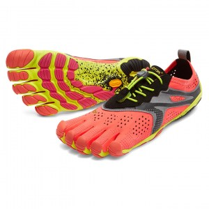 Womens V-Run Fiery Coral Vibram Fivefingers