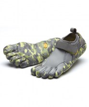 Womens Flow Grey Camo Vibram Fivefingers Ireland