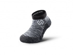 Barefoot Kids Shoe Sock Skinners Granite Grey Ireland