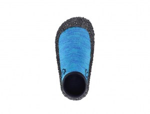 Barefoot Kids Shoe Sock Skinners Ocean Blue Ireland