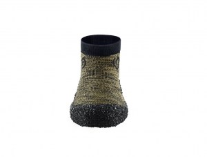 Barefoot Kids Shoe Sock Skinners Olive Green Ireland