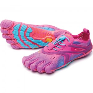 Womens V-Run Purple Blue Vibram Fivefingers