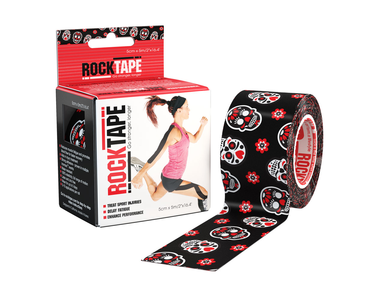 Rocktape 5cm Clinical Pattern